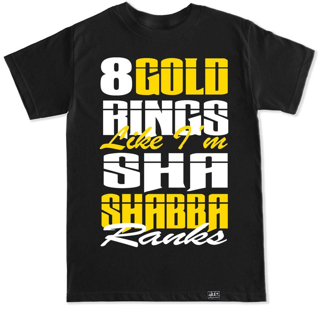 S Shabba Ranks Hip Hop Rap T Shirt