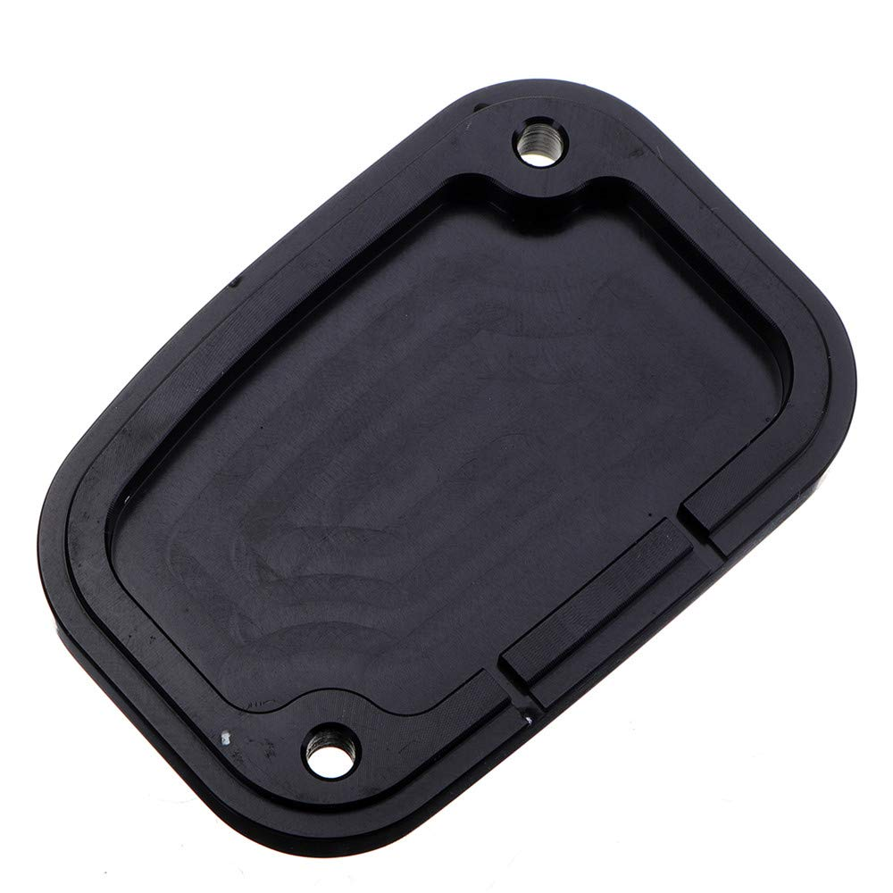 C-FUNN Gauche Moto Frein Ma/ître Cylindre Cover pour Harley Touring Street Glide 14-16 Shallowcut