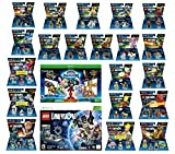 Skylanders Imaginators Starter Pack + Lego Dimensions Starter Pack + The Simpsons Homer + Scooby Doo + Portal 2 + Jurassic World + Back To The Future + 14 Fun Packs Xbox 360 Console