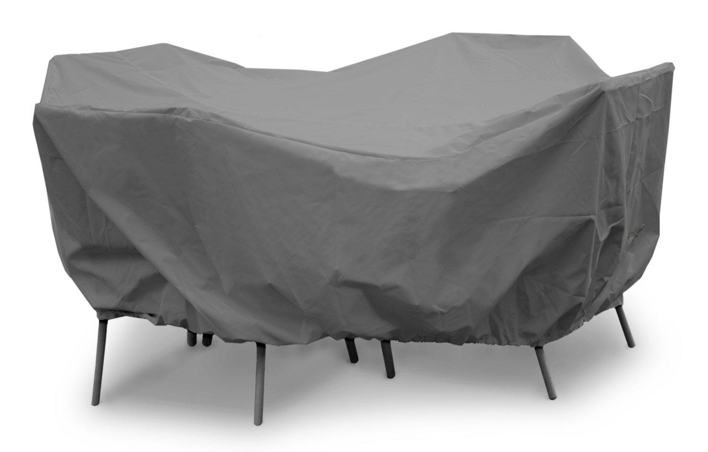 88ダイヤのx 36 Hで - 円卓ハイバックダイニングでKoverRoos 91162 Weathermax 54はカバー、チョコレートを設定します。 B002YGZQ5C
