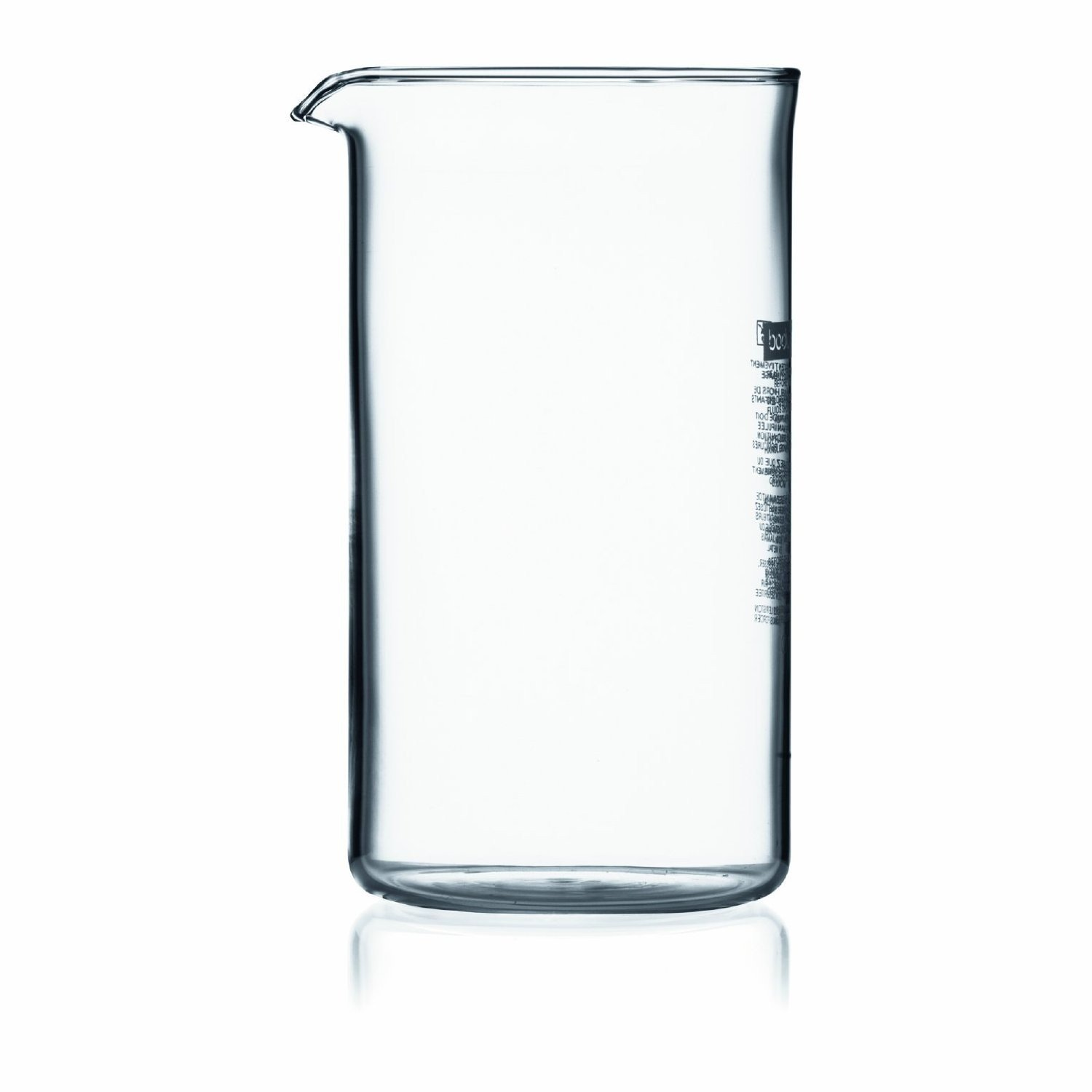amazon com bodum replacement beaker 3 cup 12 ounce us 35