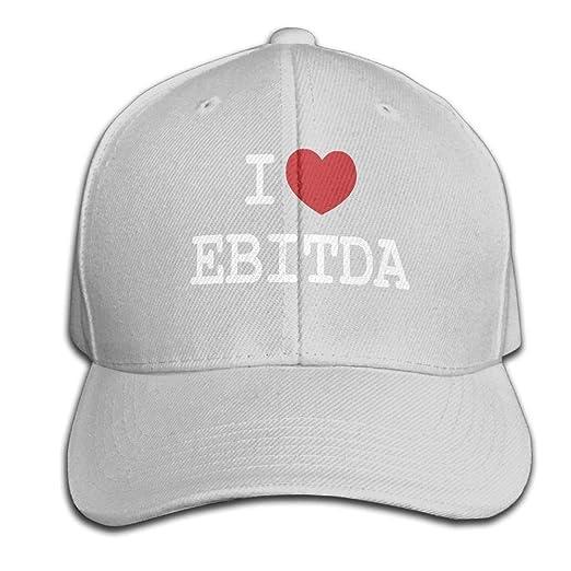 LONGAOYIJIA I Heart EBITDA Hat Top Level Baseball Cap Hat Men Women -  Classic As 9d21a696ede