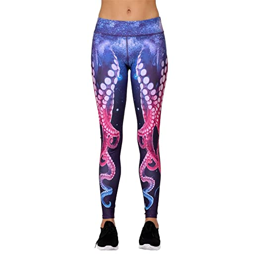 Amazon.com: Zcxaa Fashion Women Yoga Pants Workout Fitness ...