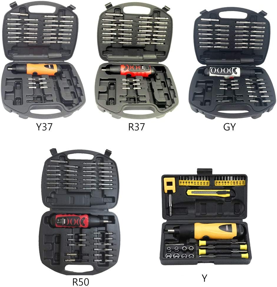 1Set Mini Electric Screwdriver Battery Operated Cordless Screw Driver Drill Tool