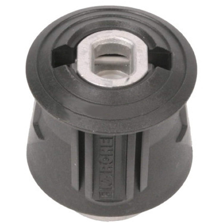 SPARES2GO High Pressure Quick Fitting Pipe Union Connector for Karcher K2 K3 K4 K5 K6 K7 Pressure Washer
