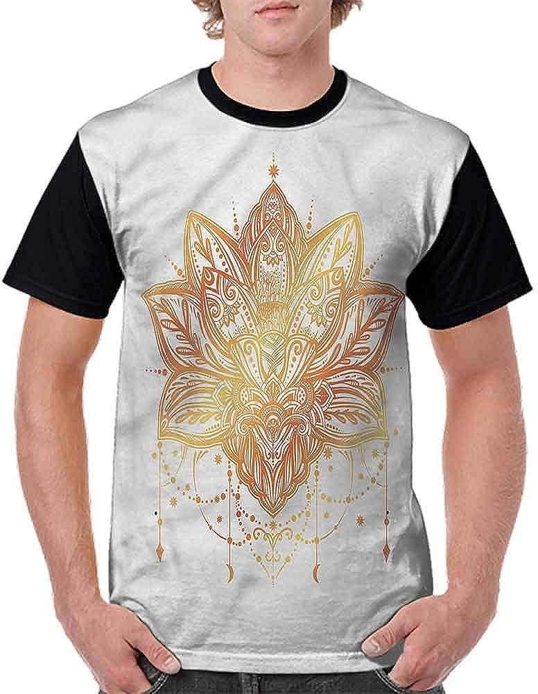 Cotton T-Shirt,Striped Bicolor Electric Fashion Personality Customization