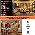 LED Bulbs, Zanflare 6.5W 10-Pack GU10 LED Bulb Light, 60w Halogen Bulb Equivalent, 550 Lumen LED Spotlight Bulb for Recessed, Accent, Track and Landscape Lighting, Non-dimmable, Warm White 3000K