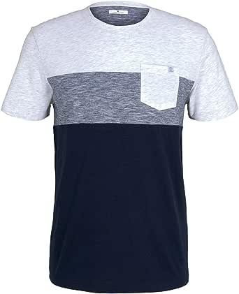 TOM TAILOR Denim Pocket Camiseta para Hombre