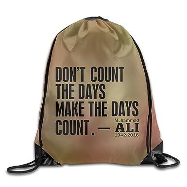 ec956cfa40 SAXON Unisex Geek Boxer Quotes Drawstring Backpack  Amazon.co.uk  Clothing