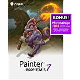 Corel Painter Essentials 7 | Digital Art Suite | Amazon Exclusive Includes Free PhotoMirage Express Valued at $49 [PC…