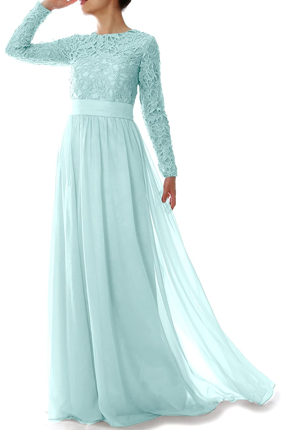 Sleeve Evening Party Gown Women Long Macloth Lace Mother Of Formal kiPXuZ