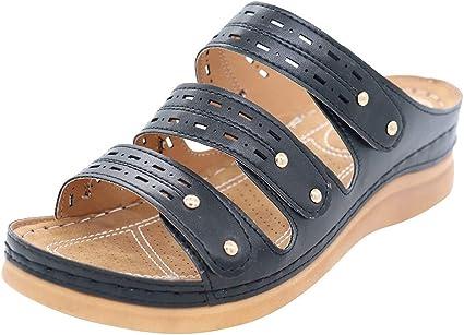 Amazon.com : Women's Flat Slippers Arch