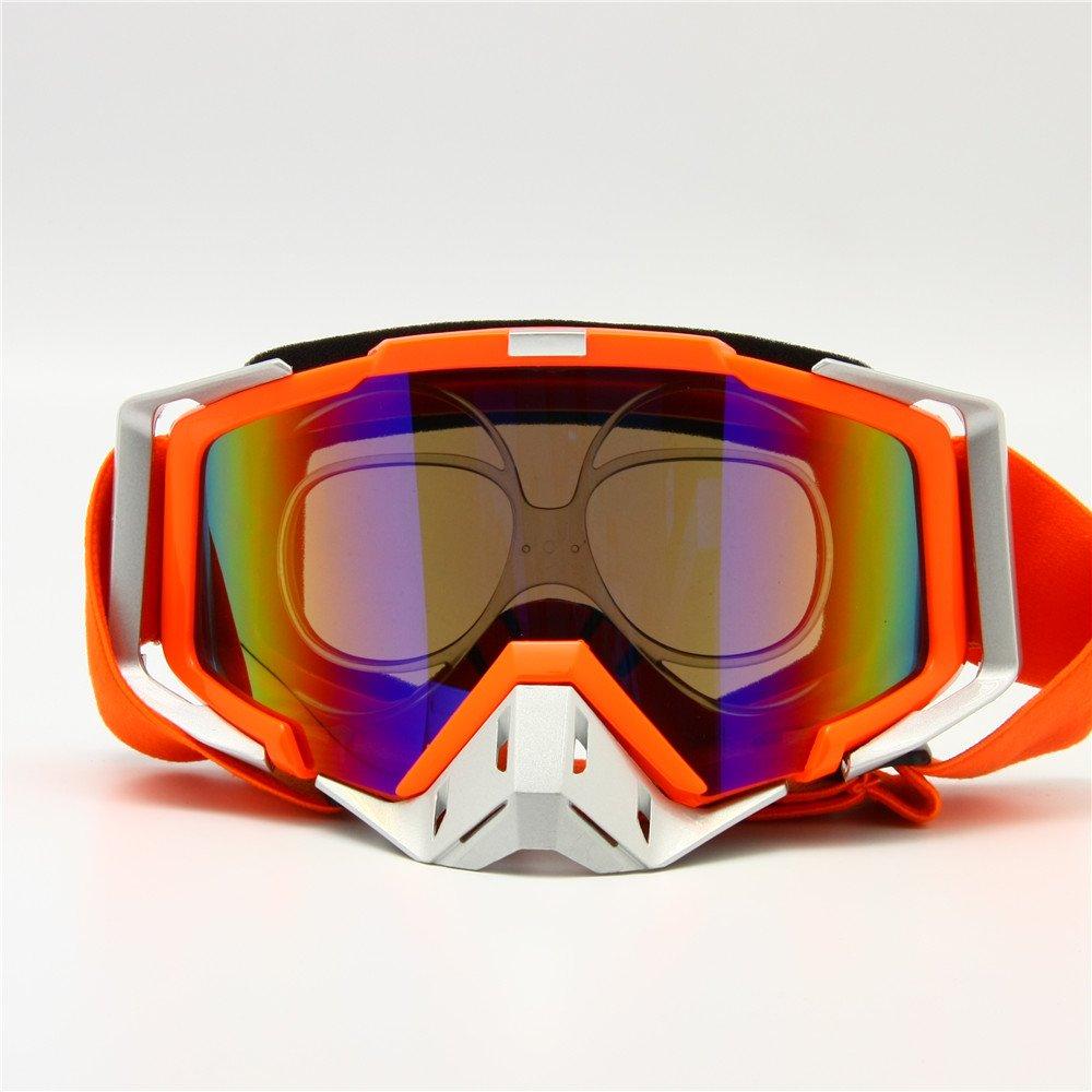 f8432478786 Amazon.com  Prescription Ski Goggles Rx Insert Optical Adaptor TR90  Flexible Bendable Universal Size Inner Frame Snowboard Motorcycle Goggle   Sports   ...