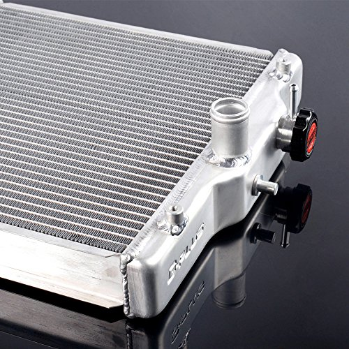 52mm For 1992-2000 Honda Civic EK EG B16A B18C DOHC Aluminum Radiator 3 Row