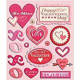 K&Company Valentine's Day Sticker Medley