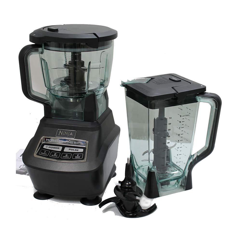Ninja Mega Kitchen System (Blender, Processor, Nutri Ninja Cups) BL770 (Certified Refurbished)
