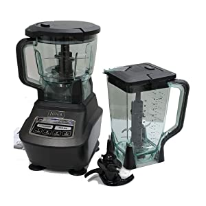 Ninja Mega Kitchen System (Blender, Processor, Nutri Ninja Cups) BL770 (Certified Refurbished)