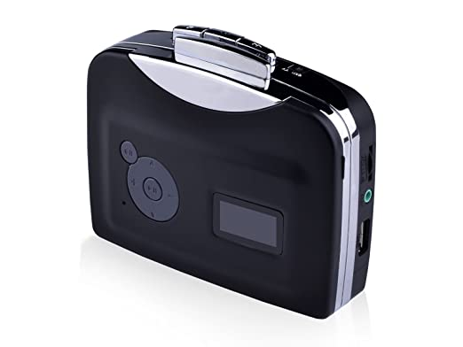 TaoTronics® tt-cm002 USB portátil cinta Cassette-to-MP3 Converter captura directamente Save a unidad Flash USB - no necesita ordenador/software: Amazon.es: ...