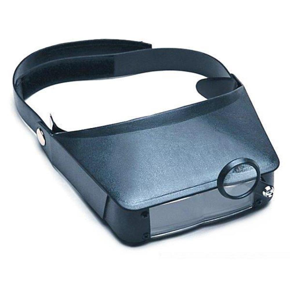 Head Band Magnifier Magnifying Glass Headband Dual Lens Flip Visor Magnification