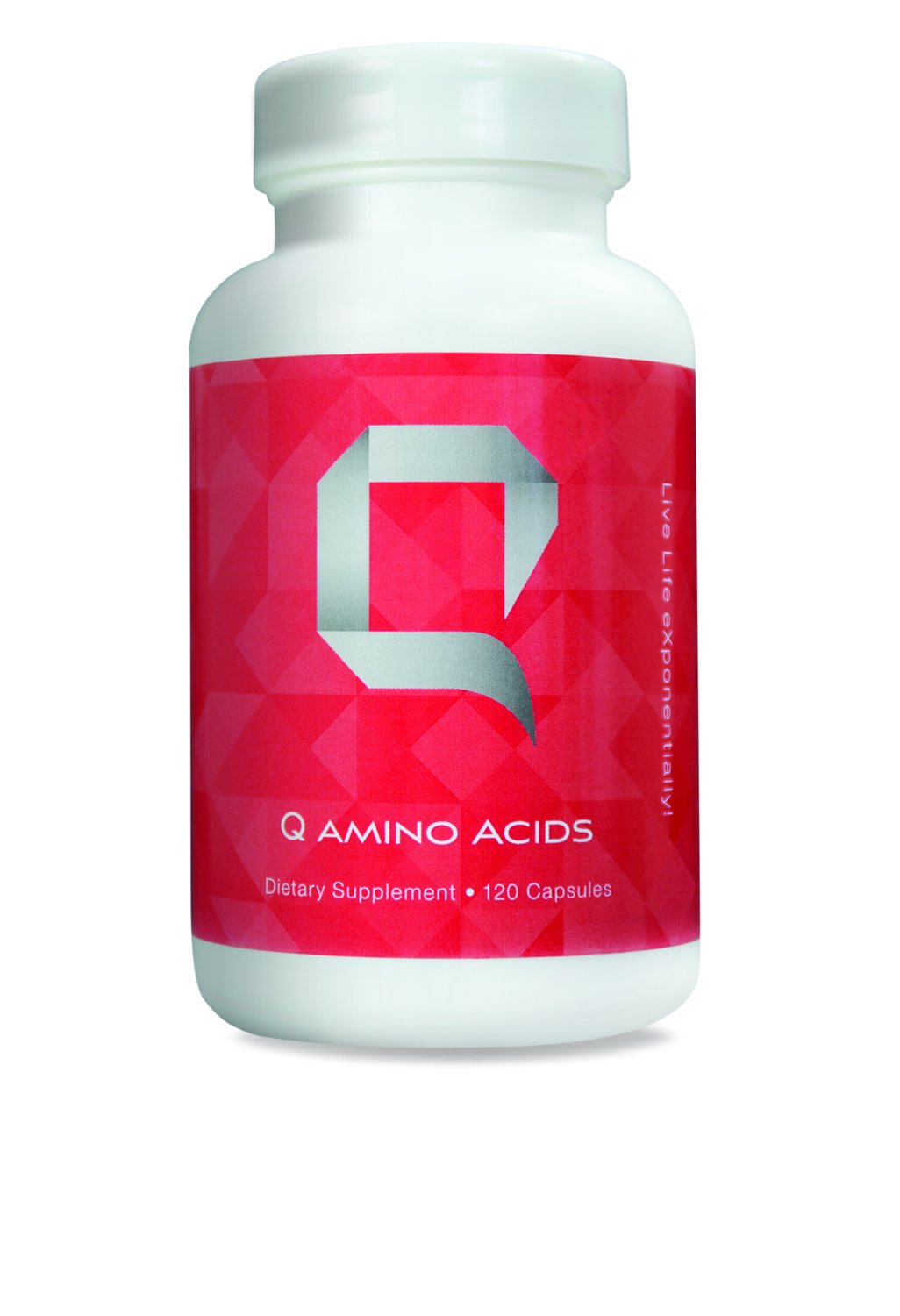 Q Amino Acids - Q Sciences Nutritional and Energy Supplement with Essential Amino Acids | BCAA Supplements | Amino Acid Complex Formula | L-Glutamine | Complete Amino Acid Vitamins - 120 Capsules