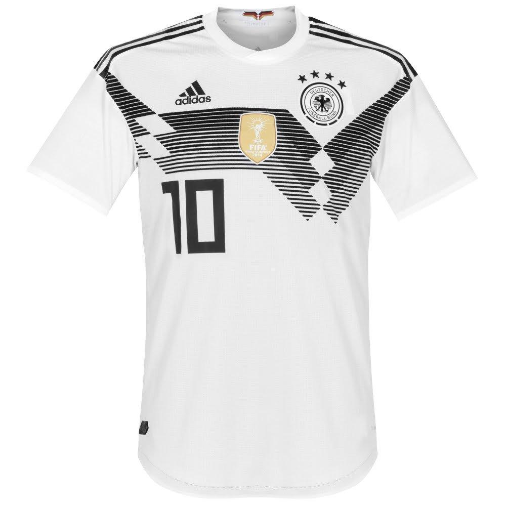 Deutschland Home Trikot 2018 2019 + Özil 10 - XL