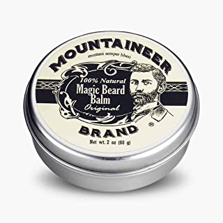 product image for Magic Beard Balm by Mountaineer Brand: All Natural Beard Conditioning Balm (Original)