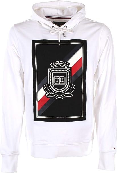 Tommy Hilfiger Crest Artwork Hoody: Amazon.co.uk: Clothing