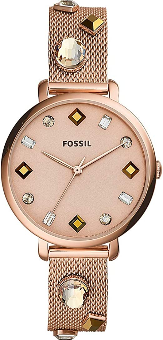 amazon fossil uhren rosegold