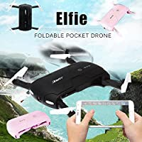Hanbaili Drone Quadcopter, Pocket Fold Portable Photography with HD Camera Height Hold / Headless Mode Cell Phone Control RC UAV Quad Rotor Helicopter