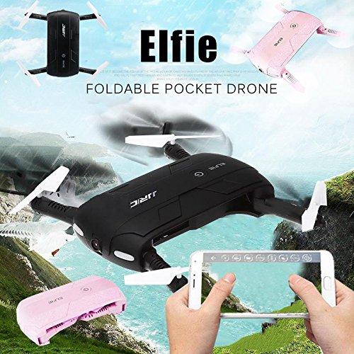 springdoit JJRC H37 Elfie WiFi Plegable RC Selfie Quadcopter Auto ...