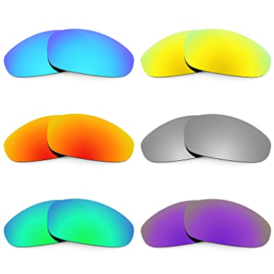 e818ec0a83 Image Unavailable. Image not available for. Color  Revant Replacement Lenses  for Oakley Juliet 6 Pair Combo Pack K027