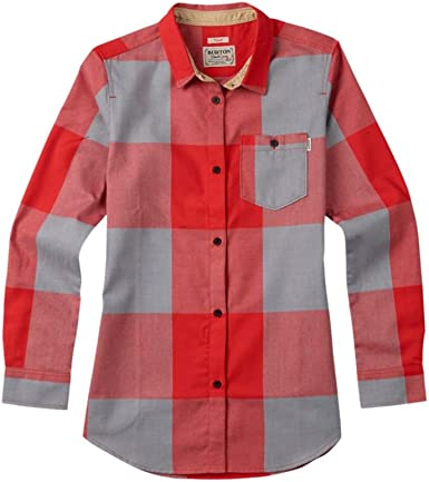 Burton Lagoon Long Sleeve Woven Camisa: Amazon.es: Ropa y accesorios