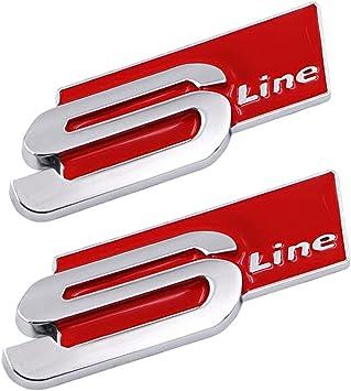 Audi S Line Trunk Badge Emblem Logo A3 A4 A6 A5 A8 TT Q5 Q7 TT B5 B6 B7 B8 C5 C6