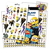 Despicable Me 3 Stickers - Over 295 Stickers Featuring Minions & Favorite Despicable Me 3 Characters ~ Bundled with 2 Specialty Separately Licensed GWW Reward Stickers