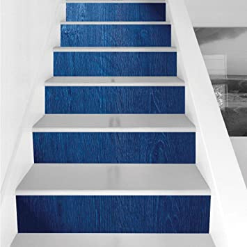 Amazoncom Stair Stickers Wall Stickers6 Pcs Self Adhesivenavy