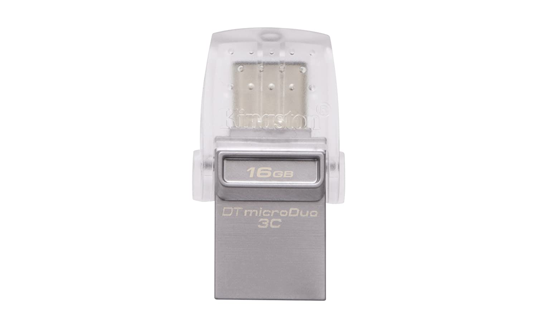 Kingston DataTraveler MicroDuo 3C DTDUO3C//64GB USB 3.0//3.1 Type-A et Type-C