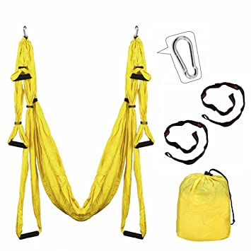 Aerial yoga swing Kit, slimerence, descompresión Antigravity ...