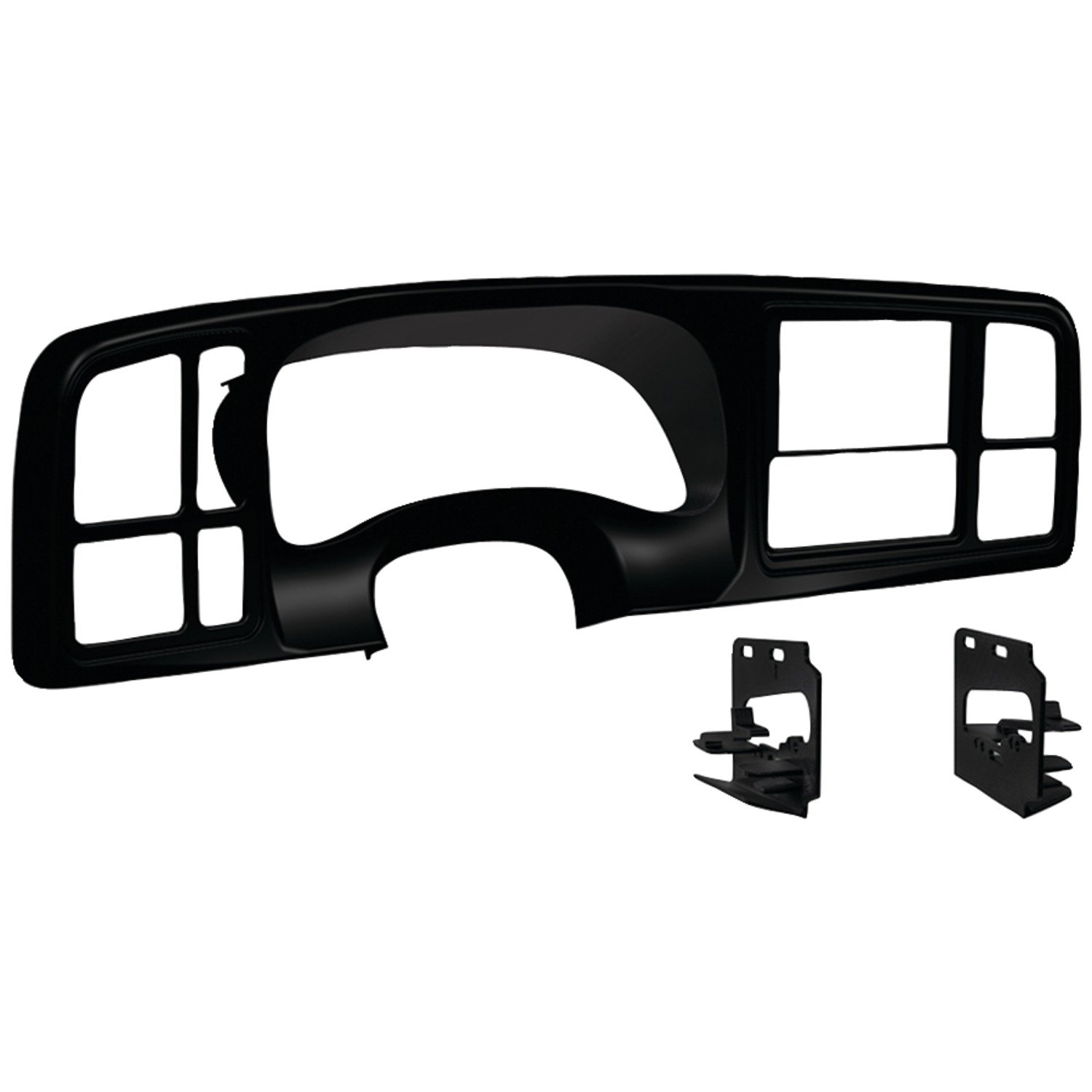 Metra DP-3002B Double DIN Dash Kit for 1999 - 2002 GM Full-Size Trucks/SUV's (Matte Black) by Metra