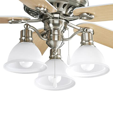 Progress lighting p2623 09 madison ceiling fan light kits by progress lighting