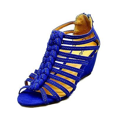 SendIt4Me Nude Pink Suedette High Slim Heel Strappy Shoes/Sandals 49V1D
