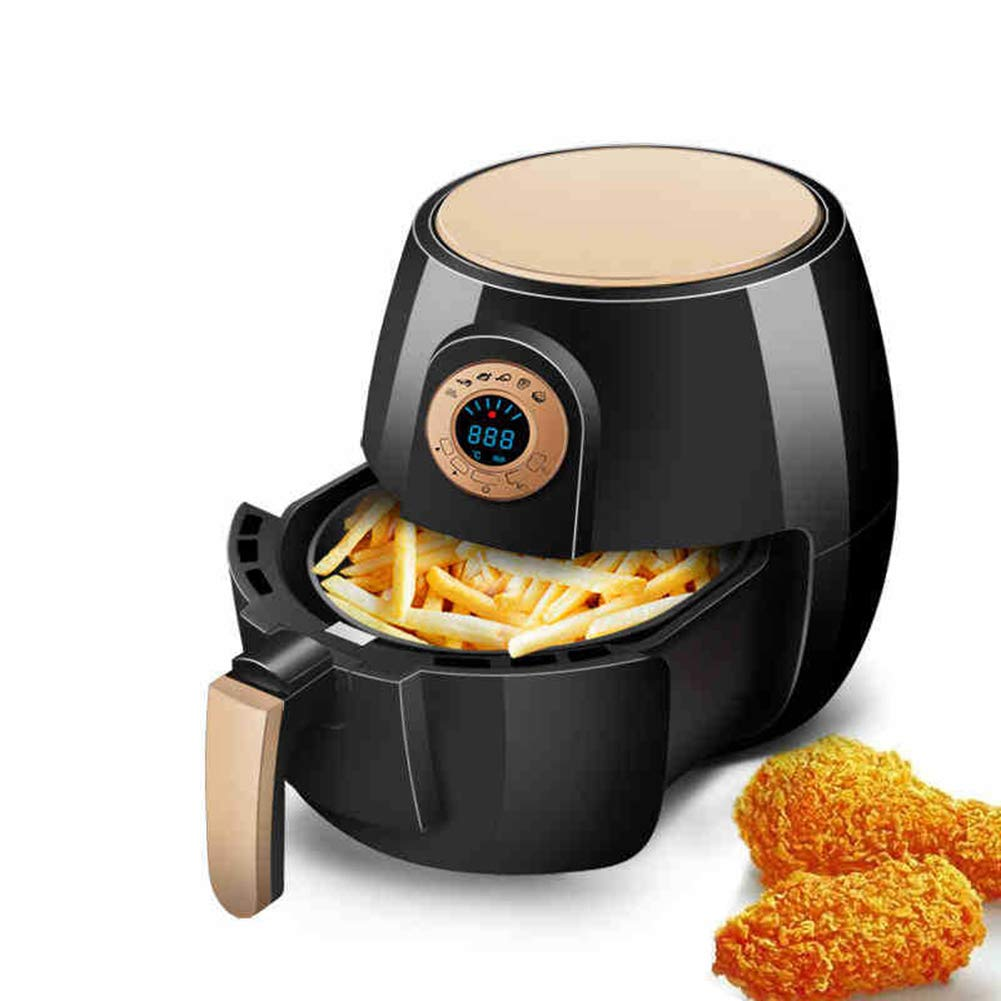 AIR Fryer NO Oil Und Intelligente Multifunktions-Friteuse LCD Touch Screen Fries Elektro-Ofen-2.6L Für 6-7 Personen