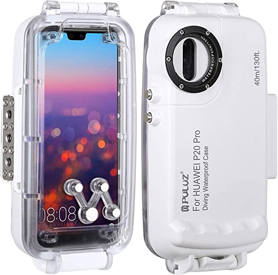 PULUZ 40m Waterproof Wear-resistant Diving Housing Cover Case for Huawei P20