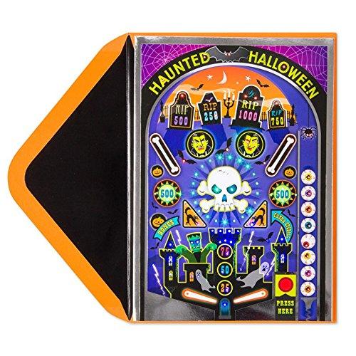 Papyrus Haunted Pinball Machine Light & (Halloween Sound And Light Machine)