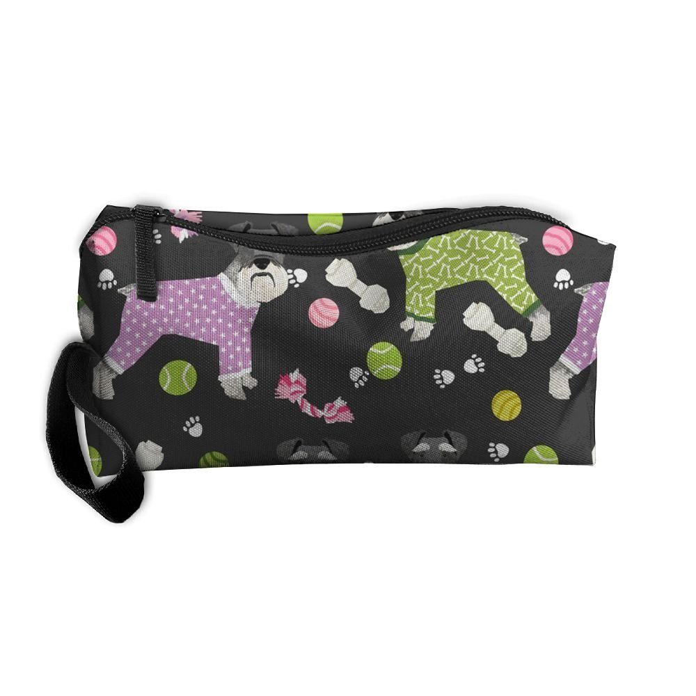 3e7b3f9b6a96 Schnauzers In Jammies Cosmetic Bag,Toiletry Bag,Travel Cosmetic Bag ...