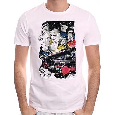 Cotton Division Herren T-Shirt Gr. S, Blanc Homme