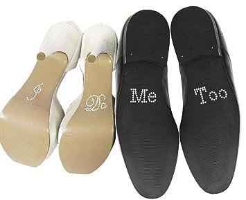 Schuhsticker Set Mit Englischsprachiger Aufschrift I Do Und Me