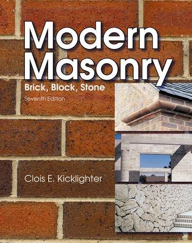 Modern Masonry by Goodheart-Willcox