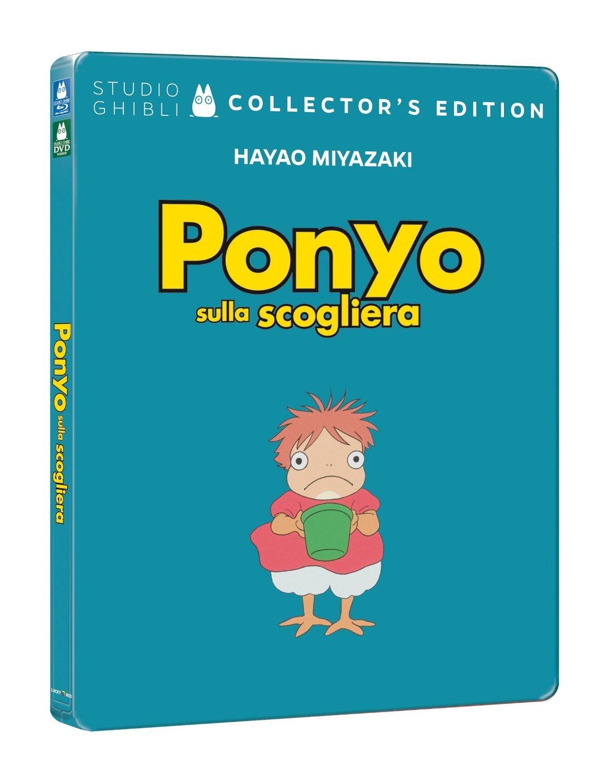 Ponyo sulla Scogliera Steelbook 2 Blu-Ray Italia Blu-ray: Amazon.es: varie, varie, varie: Cine y Series TV