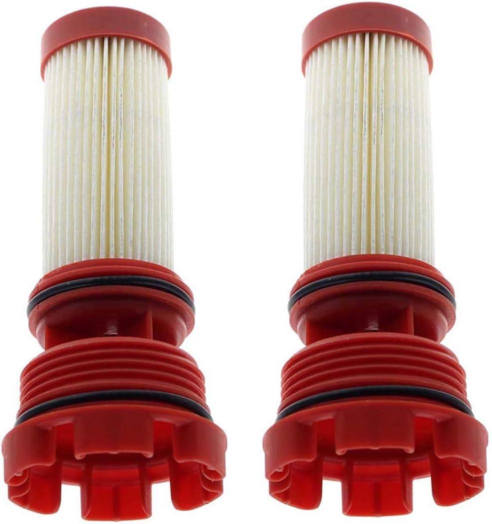 MOTOALL 2 Pack Fuel Filter Mercury Verado Optimax 35-884380t 35-8m0020349 Outboard Motors 18-7981