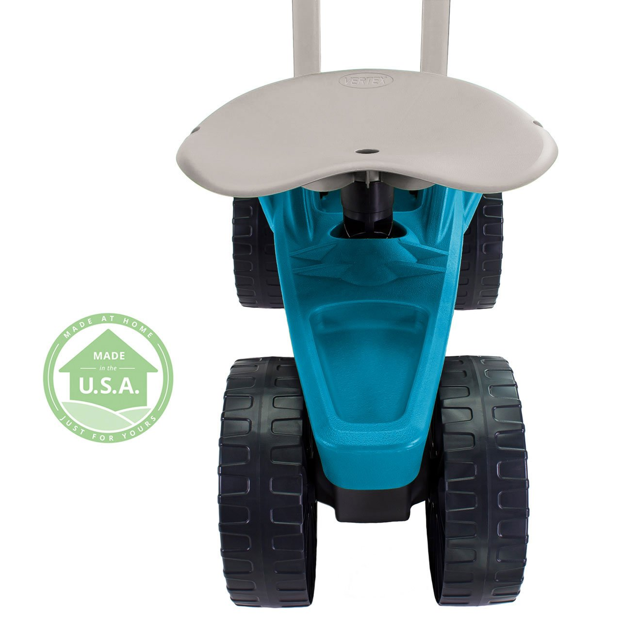 Easy Up Deluxe XTV Rolling Garden Seat and Scoot - Adjustable Swivel Seat, Heavy Duty Wheels, and Ergonomic Design To Assist Standing, Sitting, and Bending Over Made in the USA (Deluxe XTV Teal) by Vertex (Image #6)